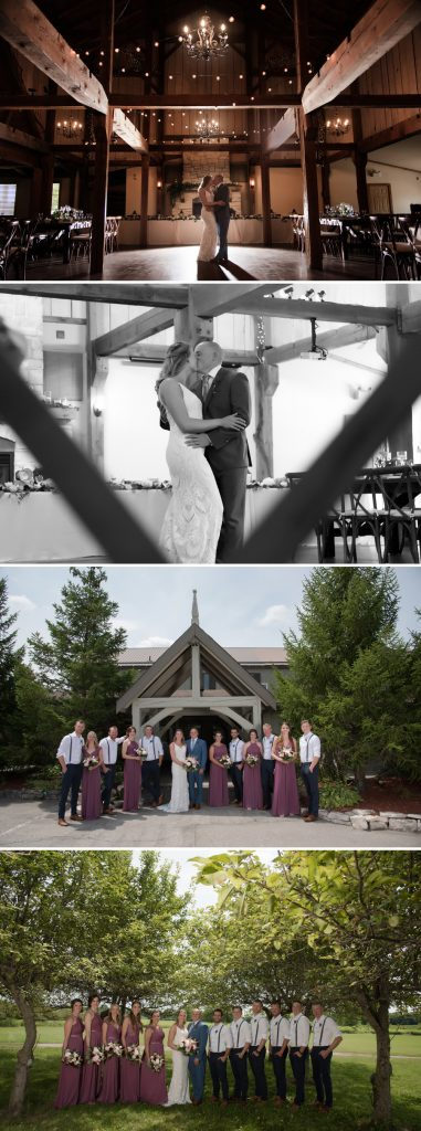 wedding photographers at bellamere winery