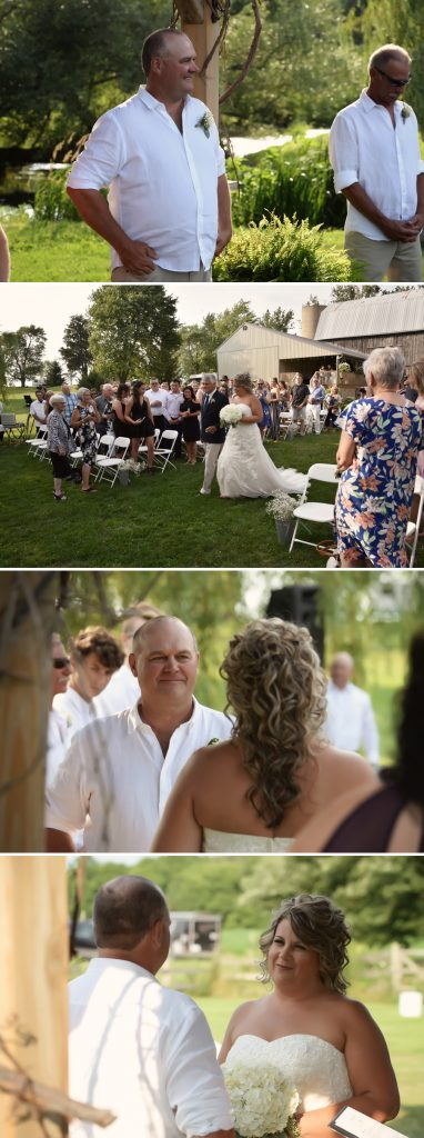 weddings at willow creek in ailsa craig