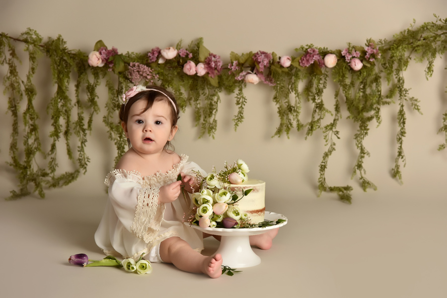 first birthday session  london ontario
